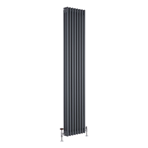 vertical triple radiator