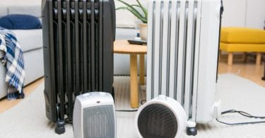 Using a Space Heater-Radiator