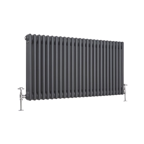 horizontal triple radiator