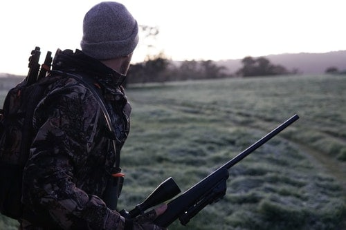 stay warm hunting
