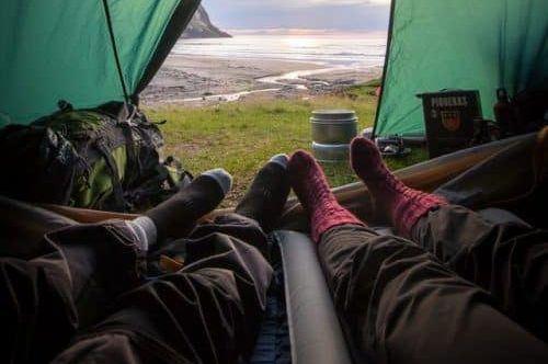 4 Ways to Stay Warm While Camping.