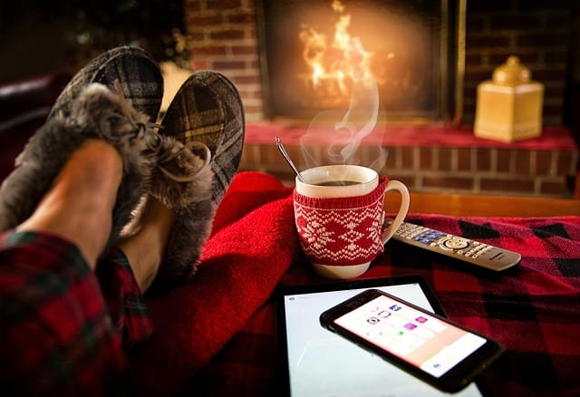 5 Ways to Stay Warm Indoors in Winter - How to Heat The Person Not The Room 1