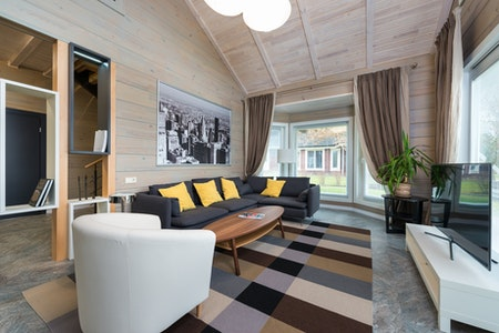 Heating a room with high ceilings