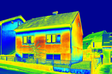 Where Heat Escapes from Our Homes
